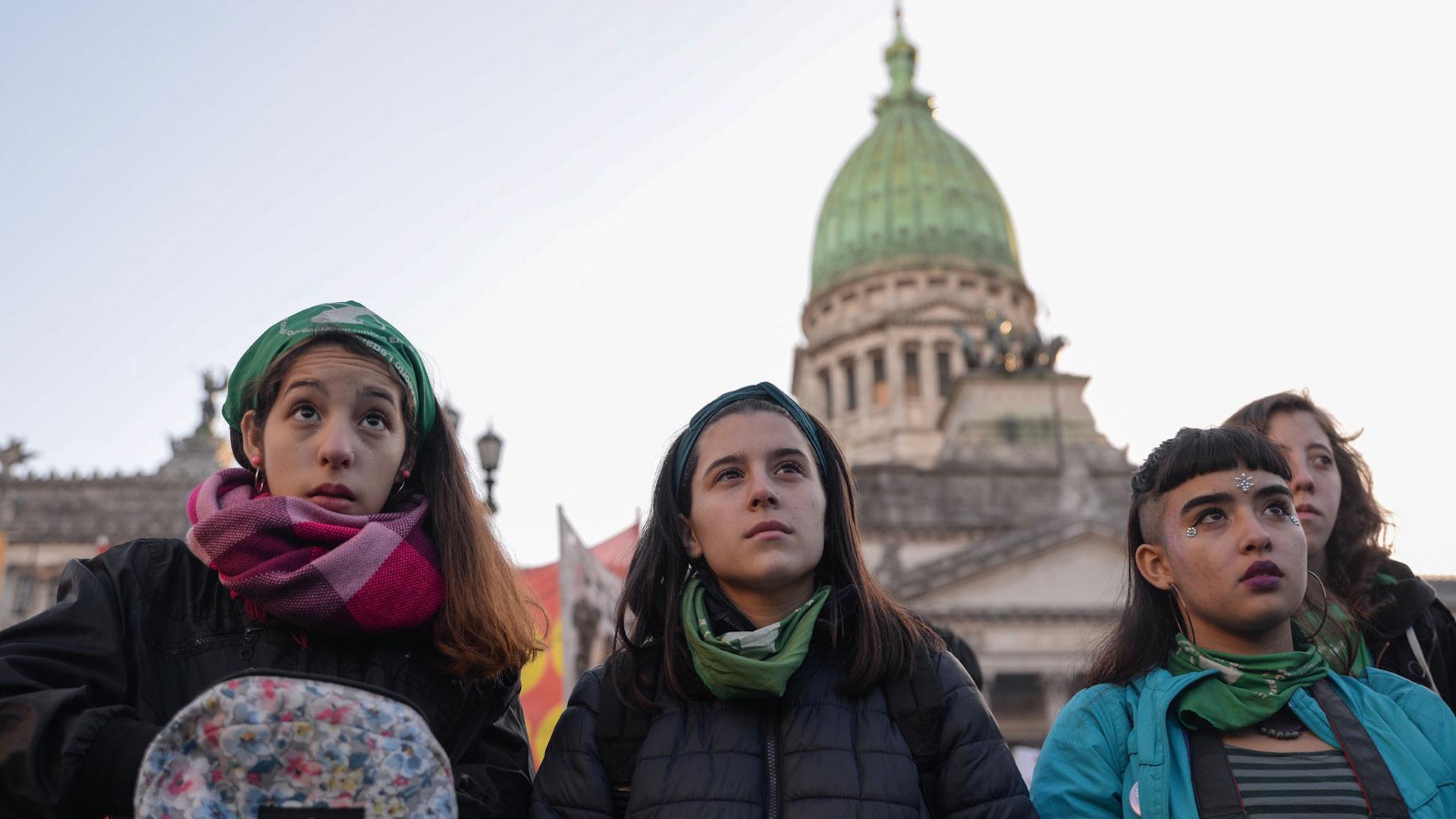 Las manifestaciones por el aborto legal, seguro y gratuito se multiplicaron por el país (Julieta Ferrario)