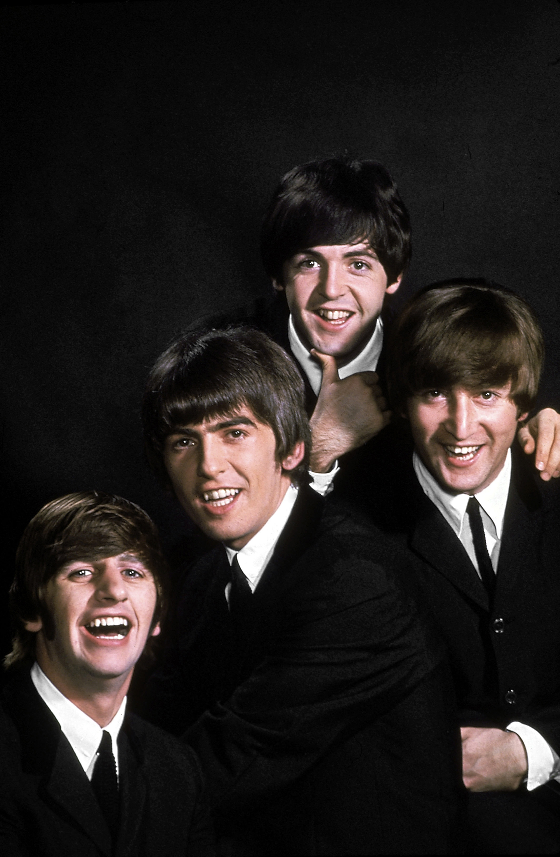 John Lennon, Paul McCartney, George Harrison y Ringo Starr. (John Dominis/The LIFE Picture Collection/Getty Images)