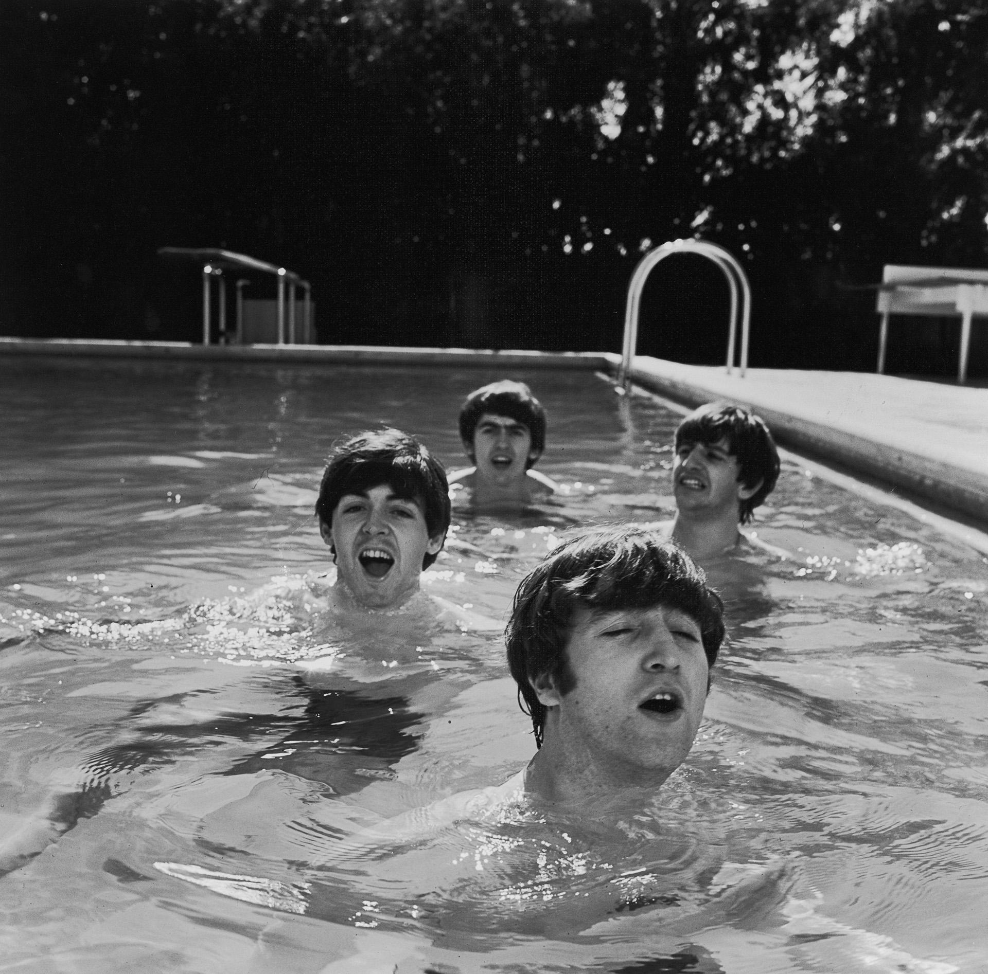 Paul McCartney, George Harrison, John Lennony Ringo vivieron la gloria y los problemas de pelear cada uno por su lugar en la banda (Photo by John Loengard/The LIFE Picture Collection/Getty Images)