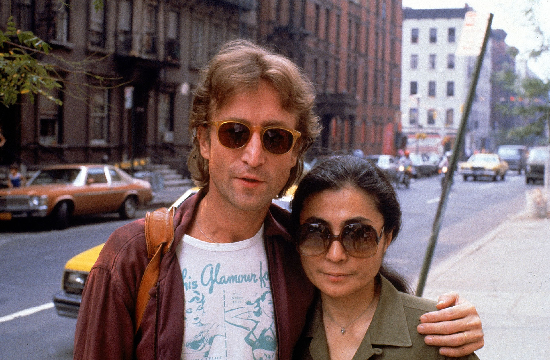 John Lennon y Yoko Ono. (Photo by David Mcgough/DMI/The LIFE Picture Collection/Getty Images)