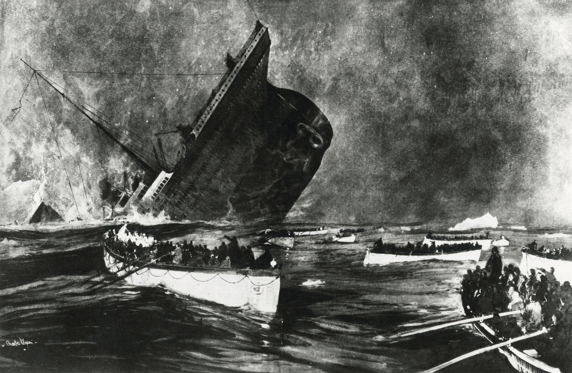 El Titanic era el objeto desplazable más grande jamás construido hasta entonces (SSPL/Getty Images)