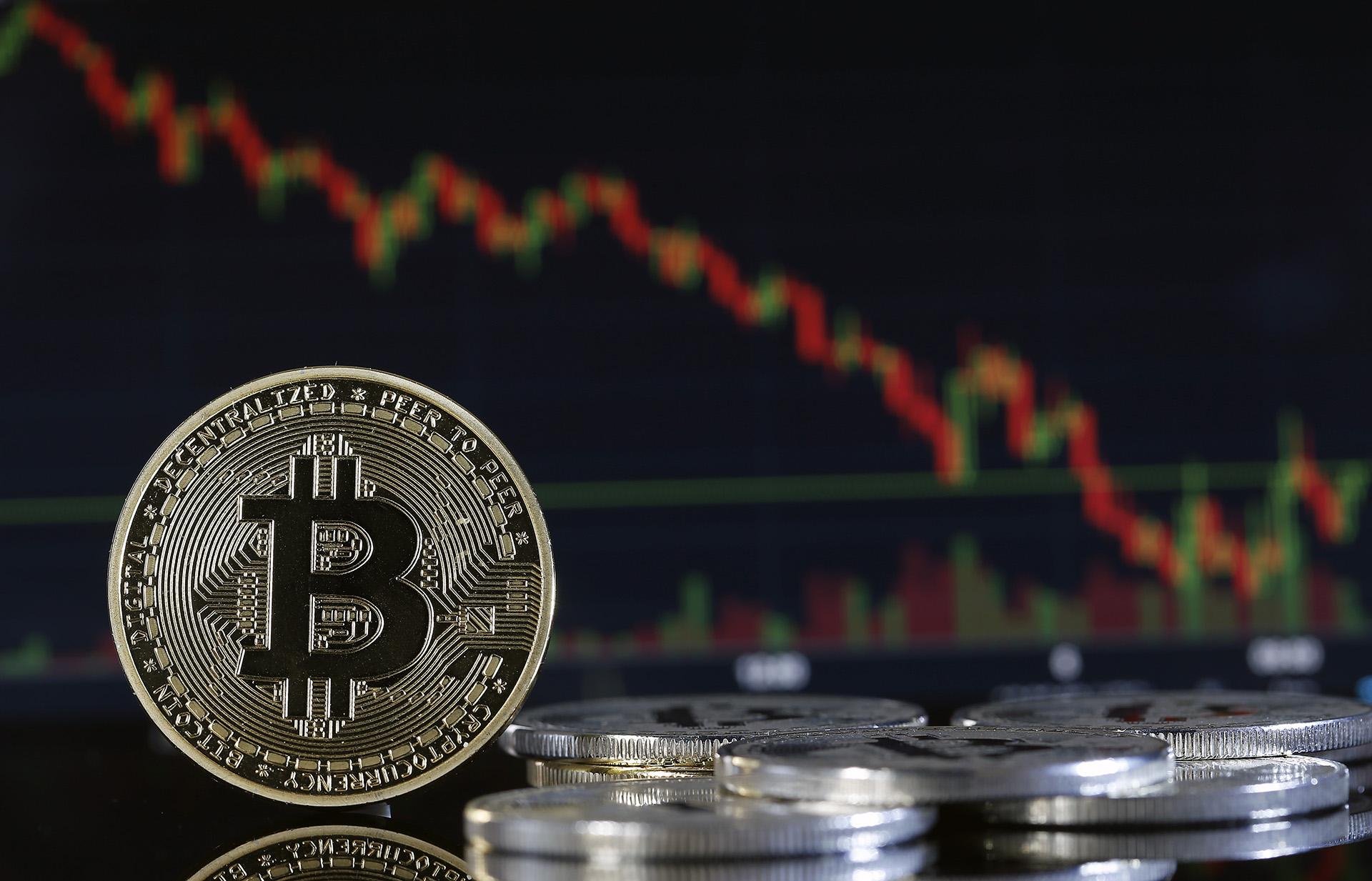 Bitcoin alcanzó un nuevo mínimo anual: su precio cayó un 10% el 7 de diciembre de 2018(Getty)