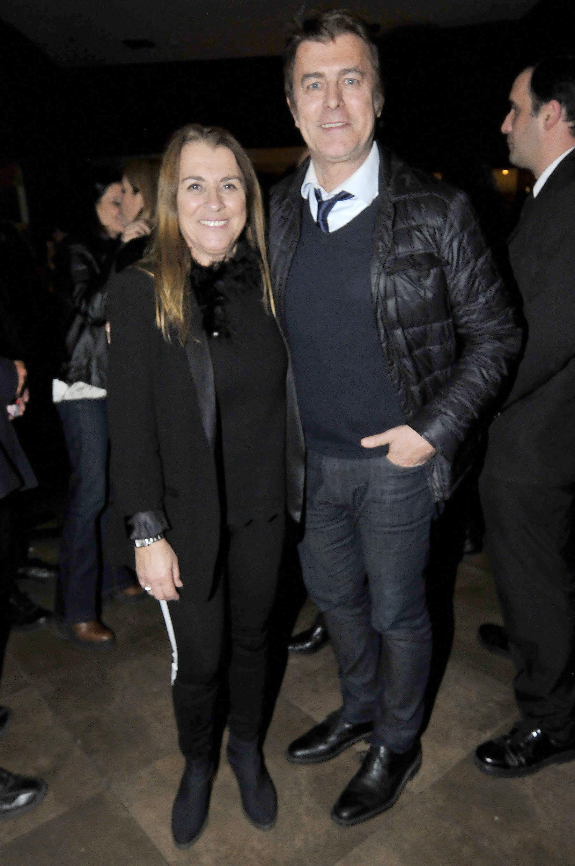 Gabriel Corrado y su mujer Constanza