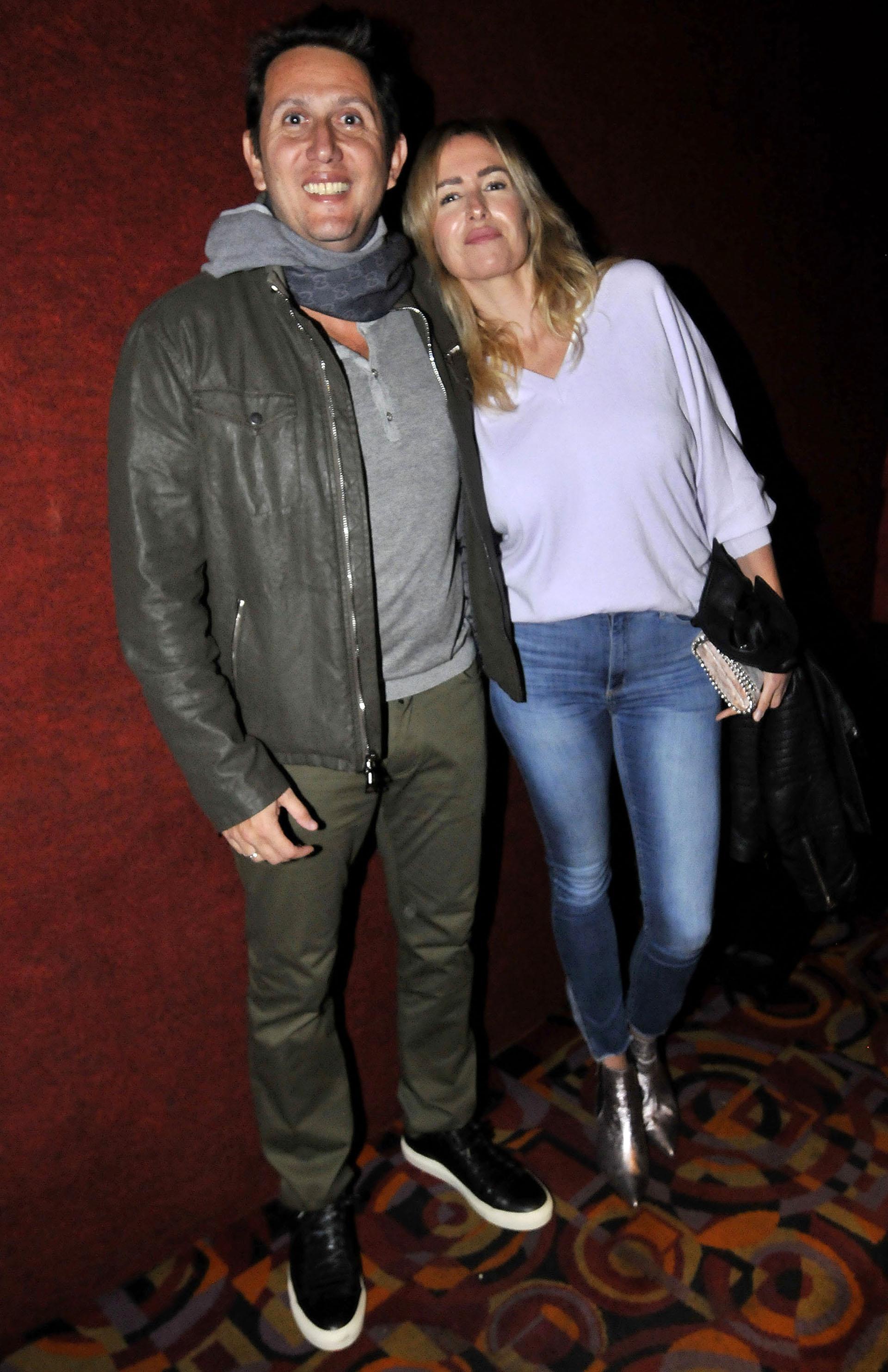 Juan Pablo Varsky y su pareja María Laura Bruzoni