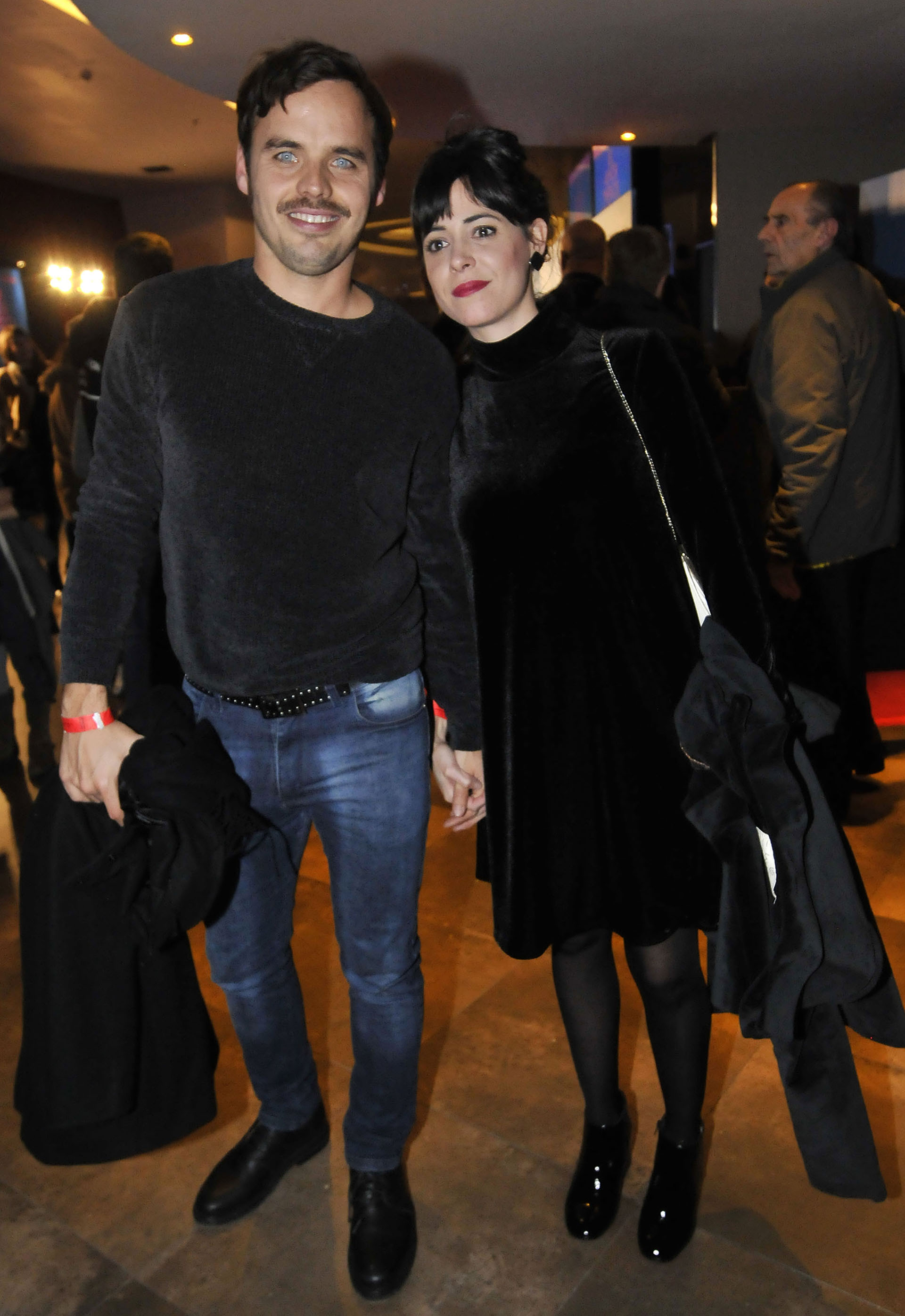 Benjamín Rojas y su parejaMartina Sánchez Acosta, que está embarazada
