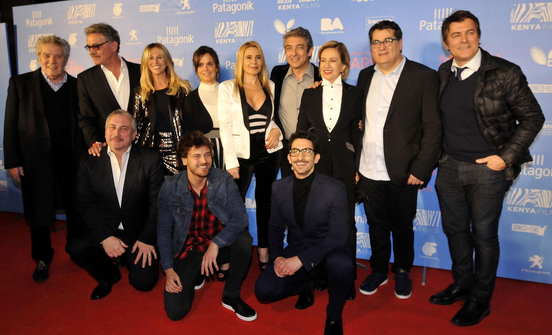 El elenco de la película que narra la historia de una pareja que se separa luego de 25 años