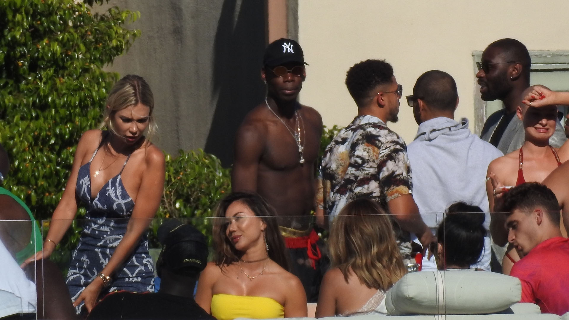 Pogba debe unirse al Manchester united cuando finalice sus vacaciones (Photo © 2018 Backgrid/The Grosby Group)