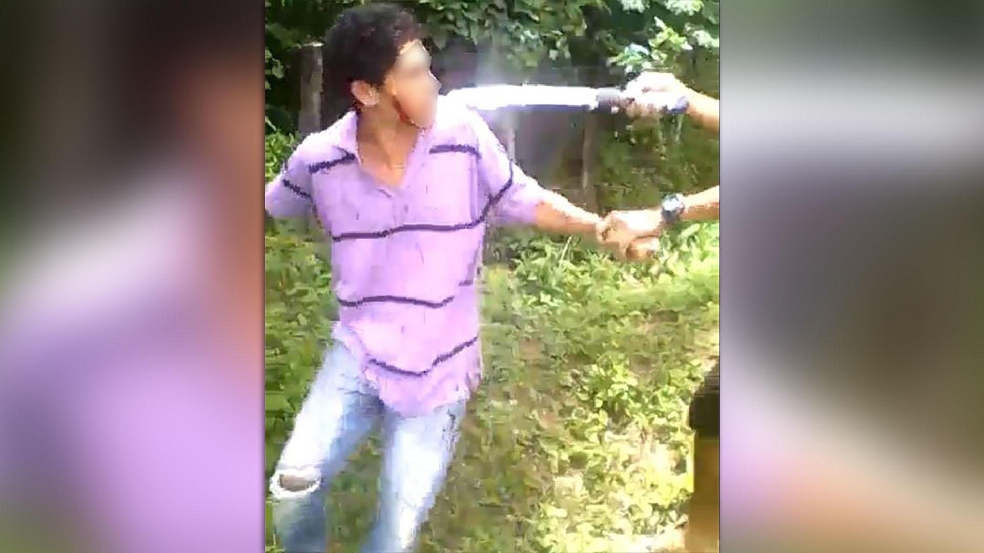 El video del asesinato se viralizó en las redes sociales