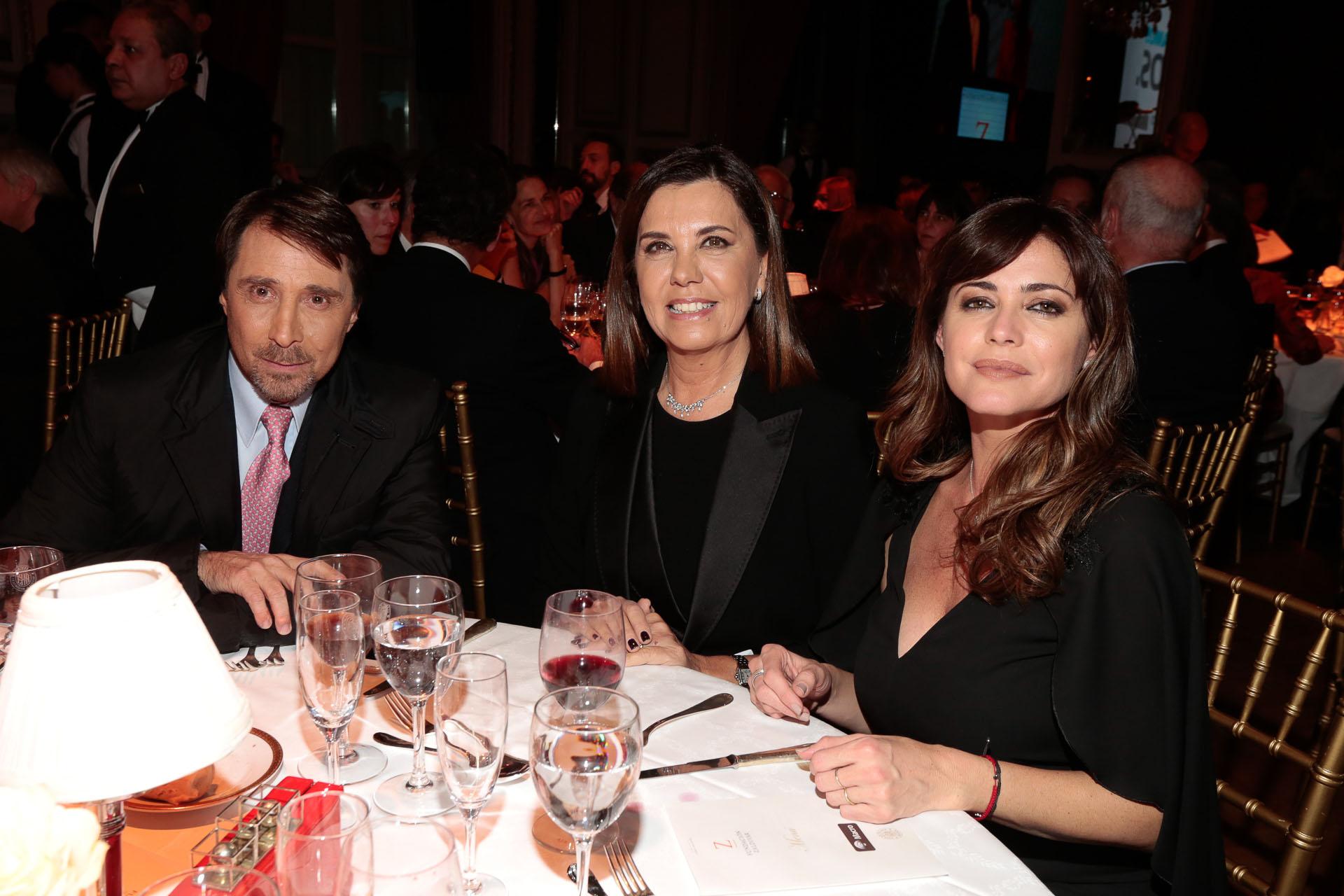 Eduardo Feinmann, Liliana Parodi y Pamela David