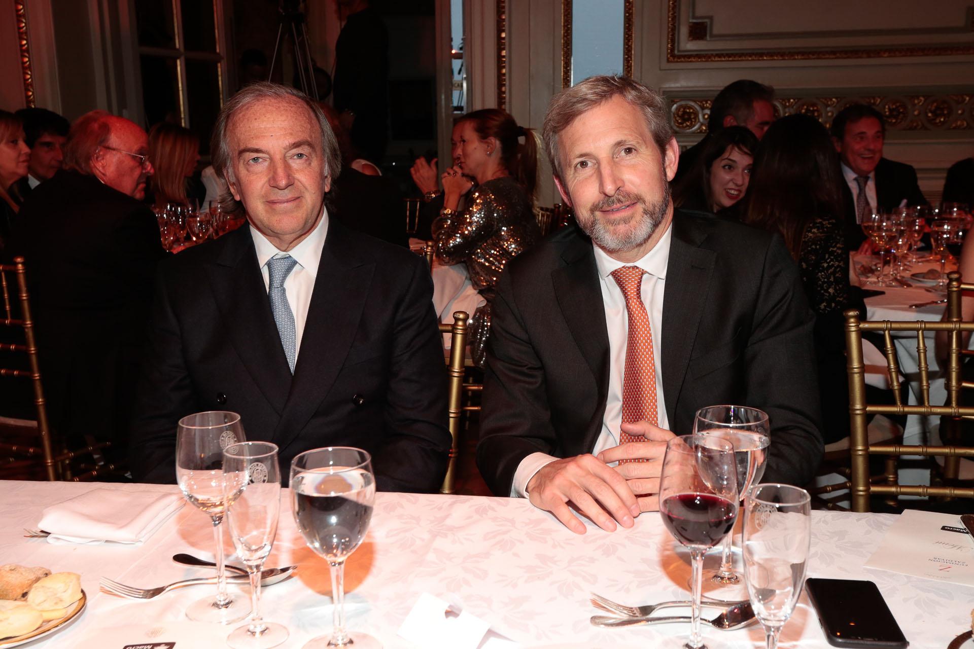 Roberto Zaldivar y Rogelio Frigerio