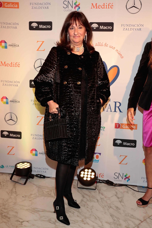 María Podestá, presidente de la Orden de Malta Argentina