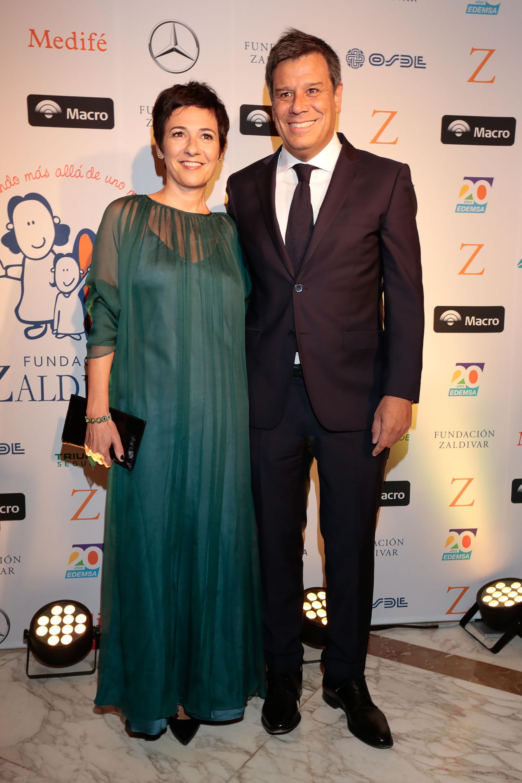 Facundo Manes y su mujer Josefina