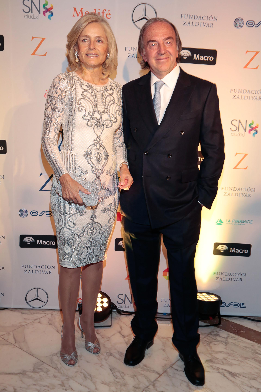 Cecilia Zuberbuhler y Roberto Zaldivar