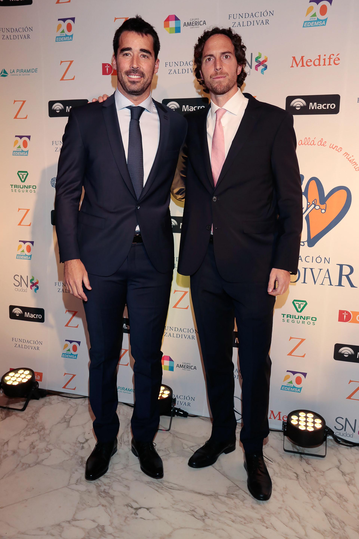 Nacho Viale y Roger Zaldivar
