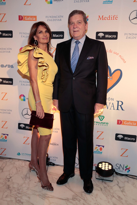 Teresa Calandra y Gonzalo Bergada