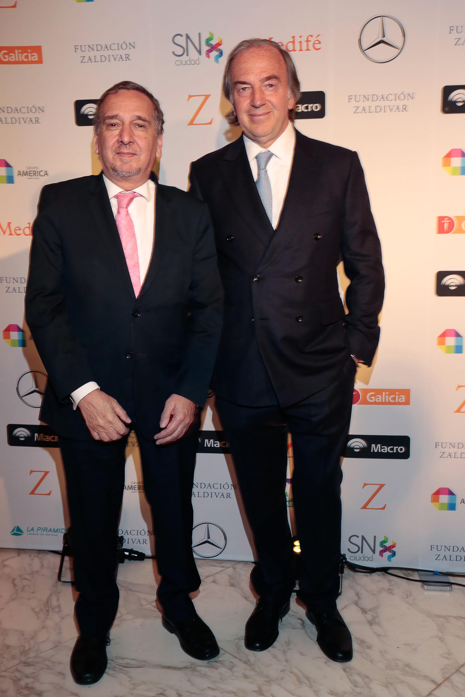 Lino Barañao y Roberto Zaldivar