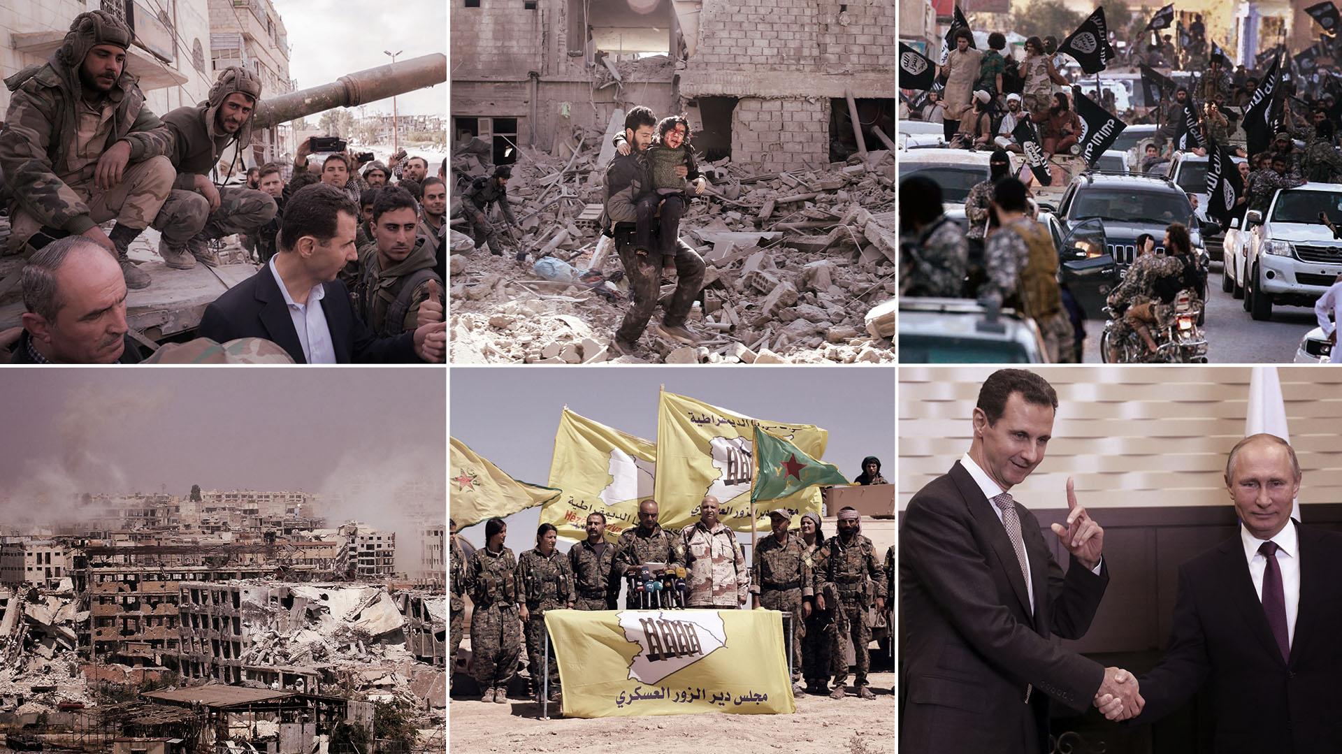 La Guerra Siria se acerca a un desenlace, con Bashar al Assad como gran ganador