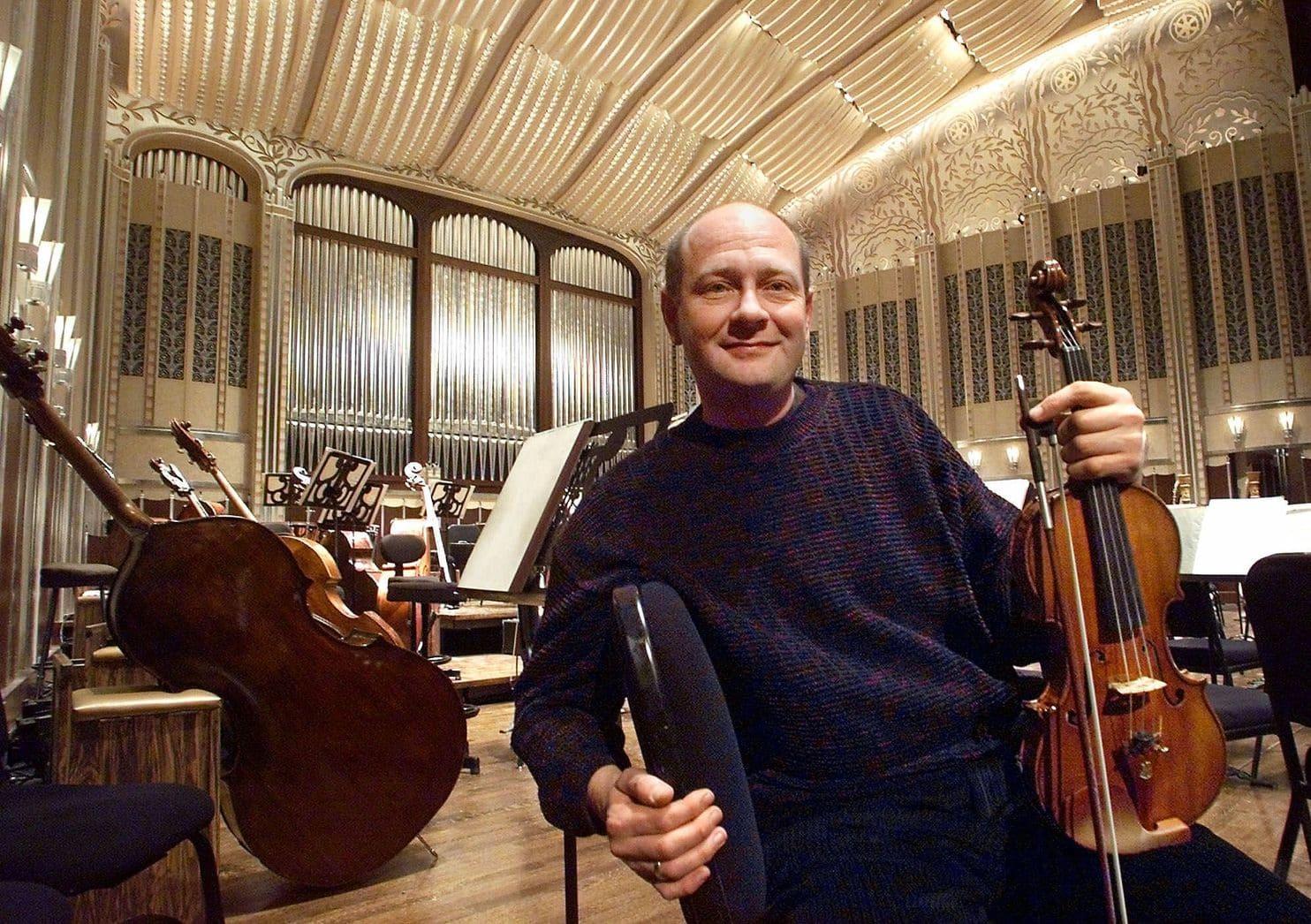 El violinista William Preucil, de la Orquestra de Cleveland, ha sido suspendido tras varias alegaciones de acoso sexual (AP)