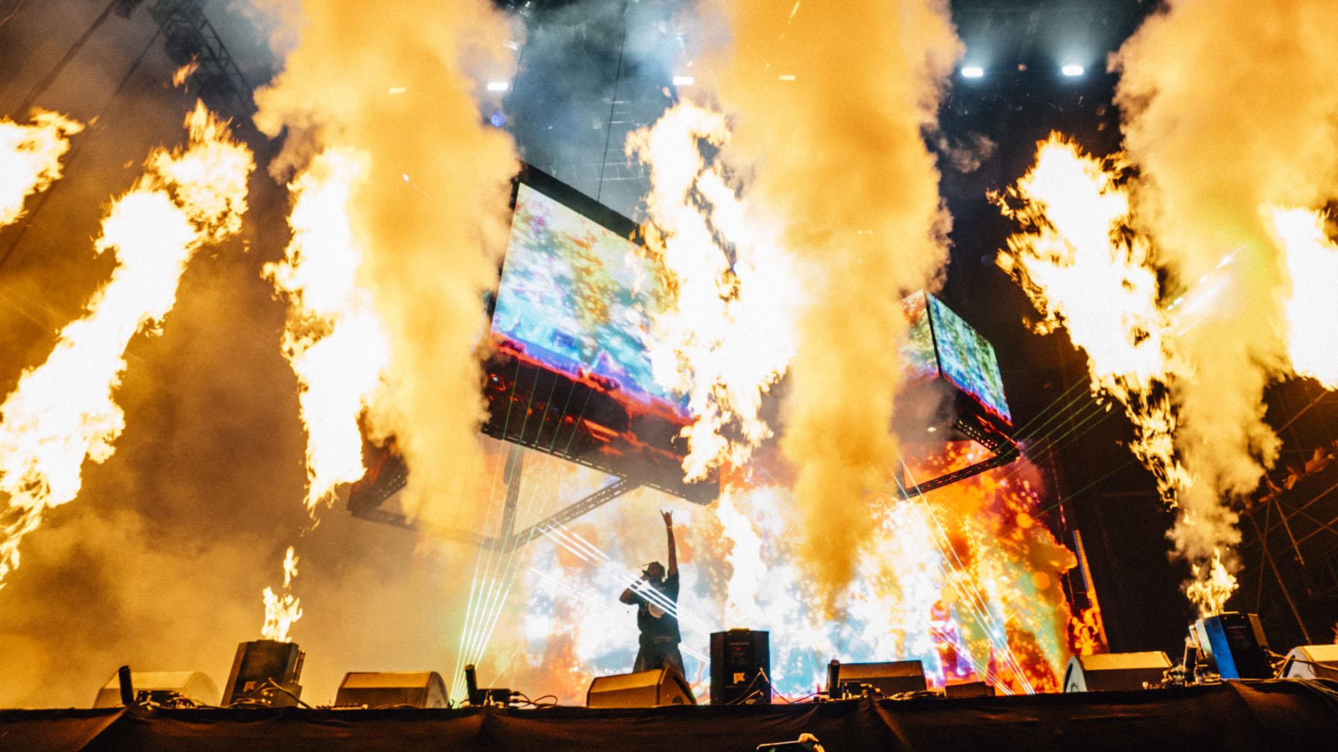 El escenario el llamas.