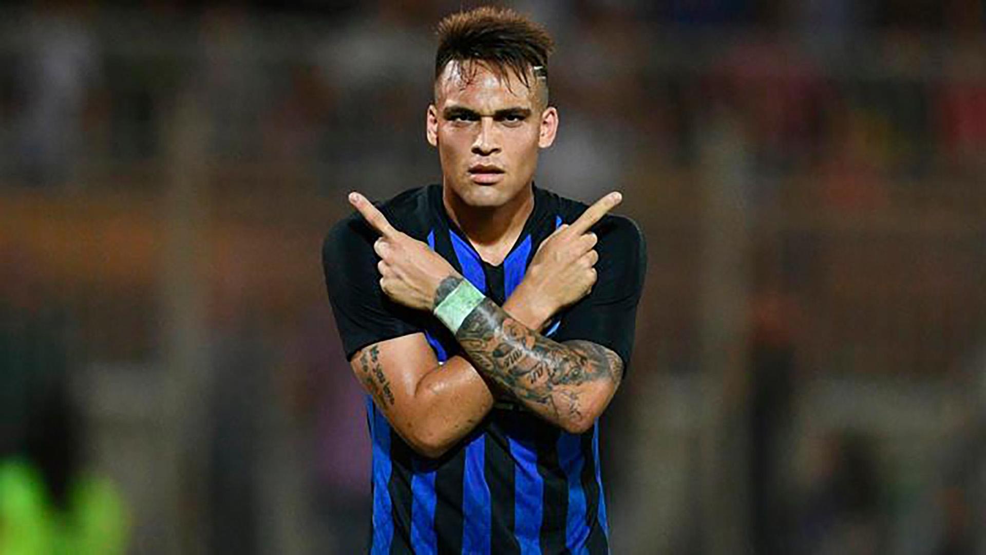 Lautaro Martínez ya está pagando con goles su estadía en el Inter