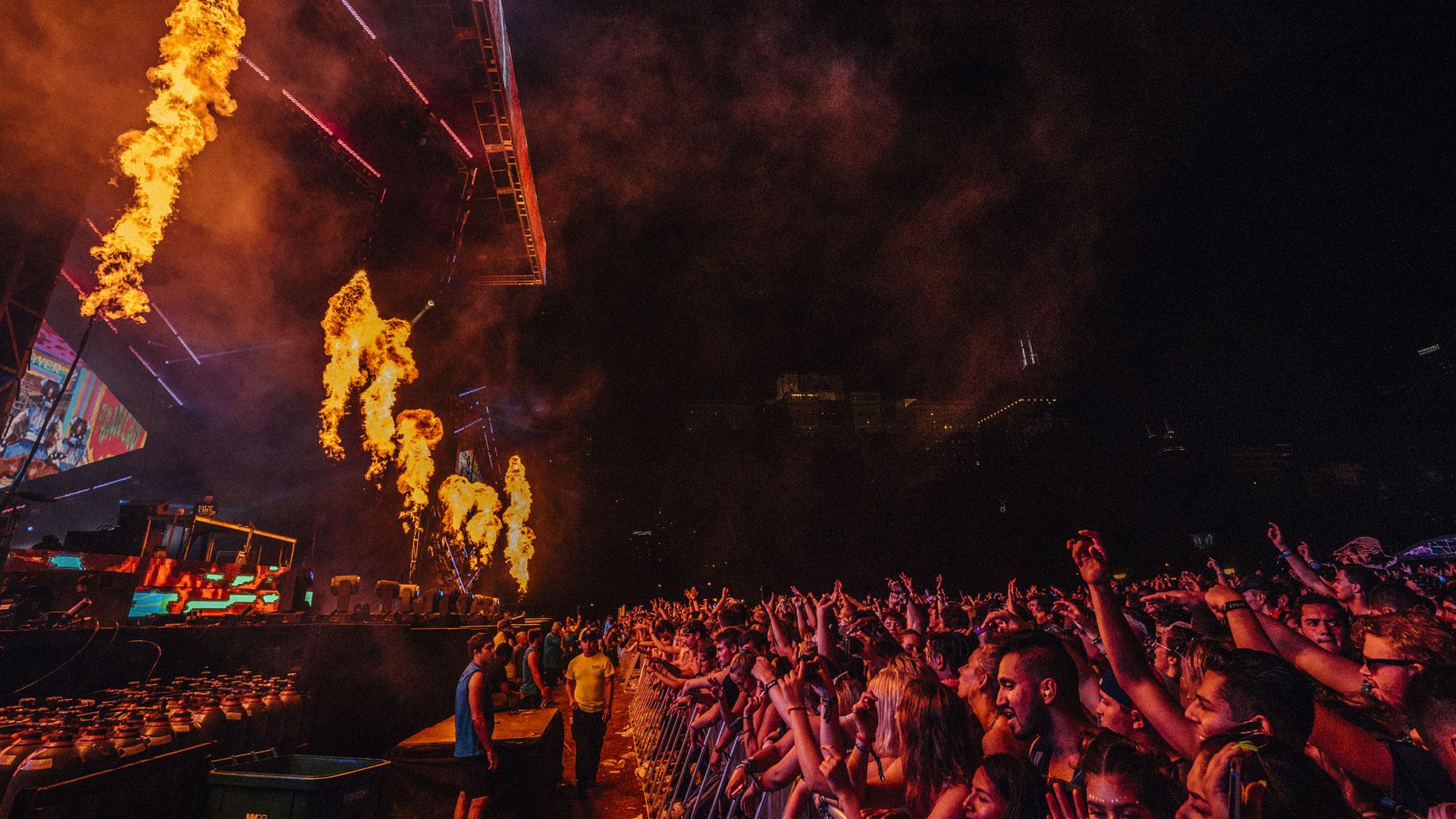 Los diferentes estilos de 180 bandas y artistas confluyen en los escenarios del Lollapalooza.