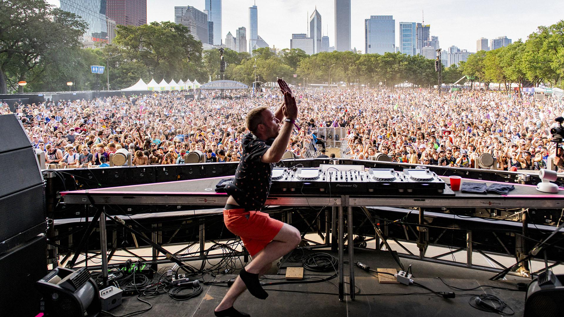 Pasaron 100.000 personas por día por el Lollapalooza Chicago.