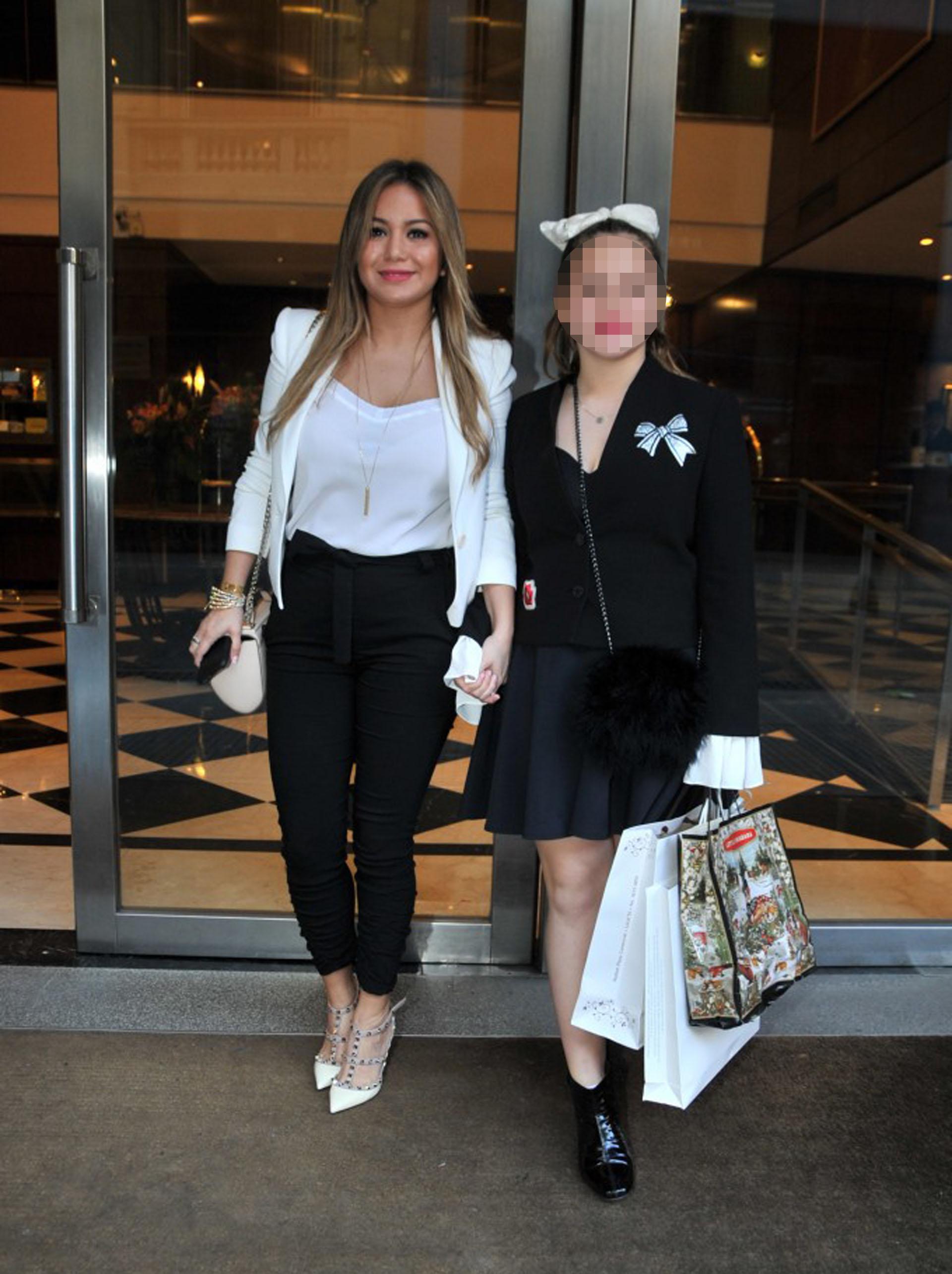 Karina La Princesita y su hija, Sol