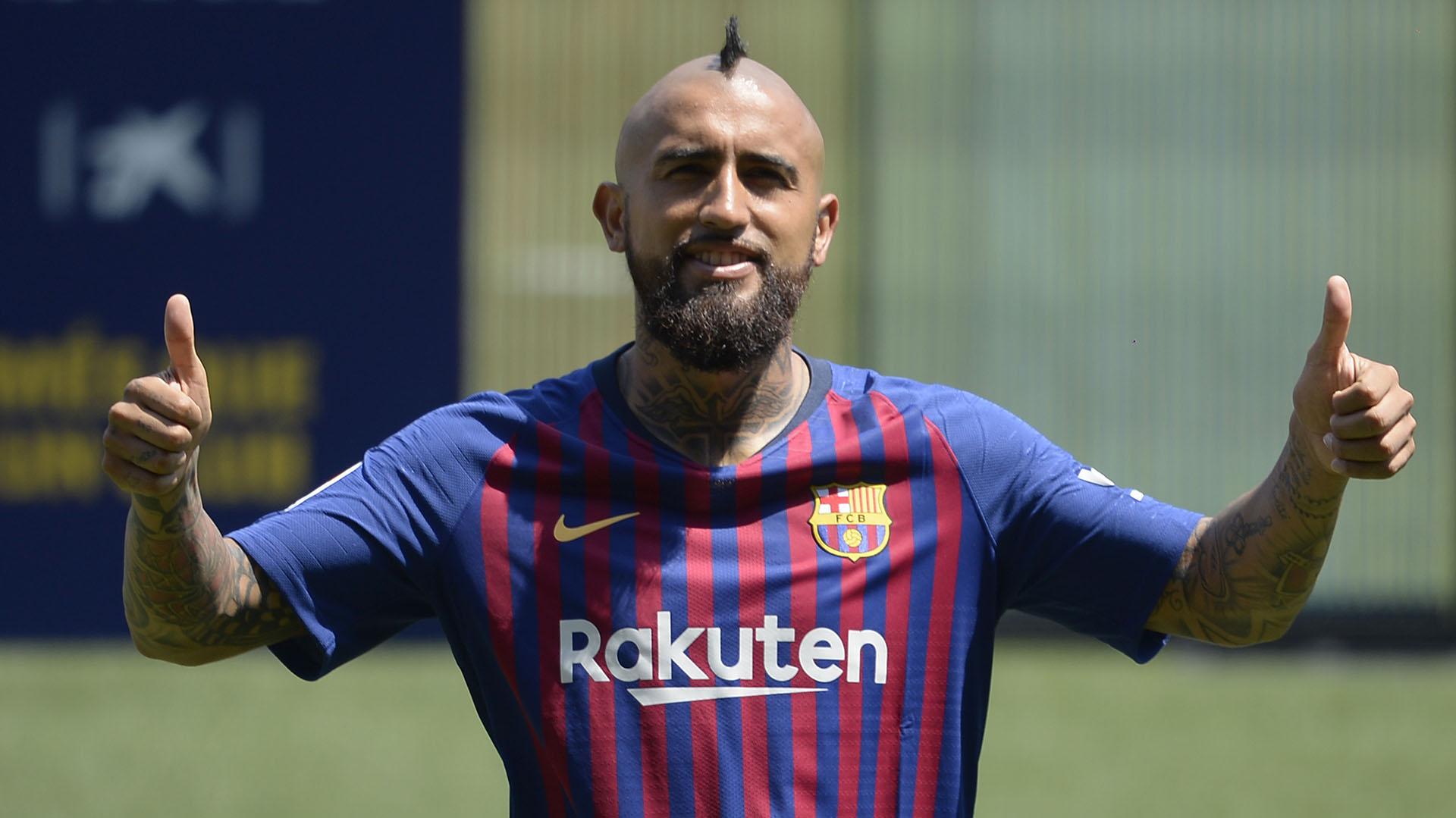 Arturo Vidal no será titular ante el Sevilla (AFP)