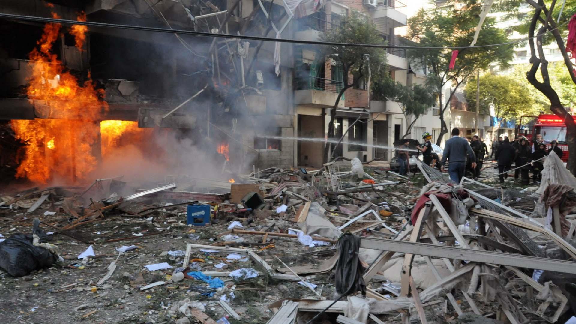 La explosión provocó 22 muertes (Télam)