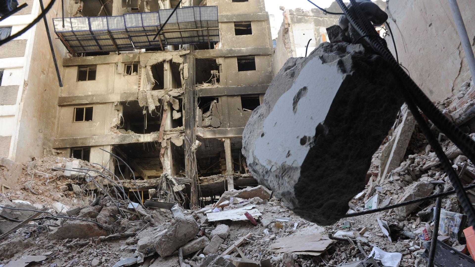 Hubo 22 muertos y decenas de heridos (foto gentileza La Capital)