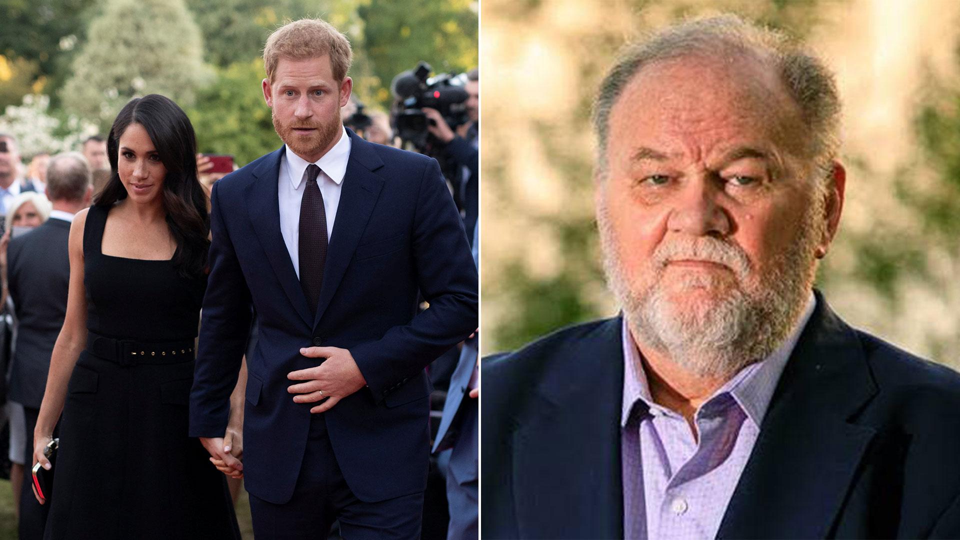 Los duques de Sussex buscan un acercamiento con Thomas Markle