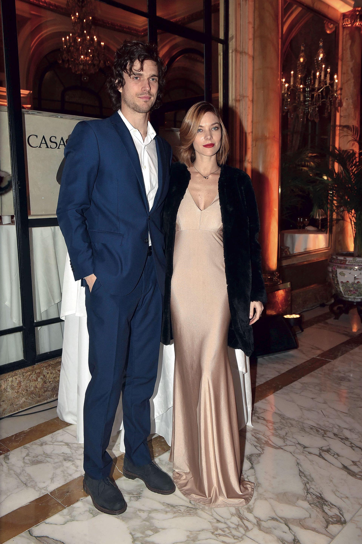 Laura Laprida y su novio, Eugenio Levis.