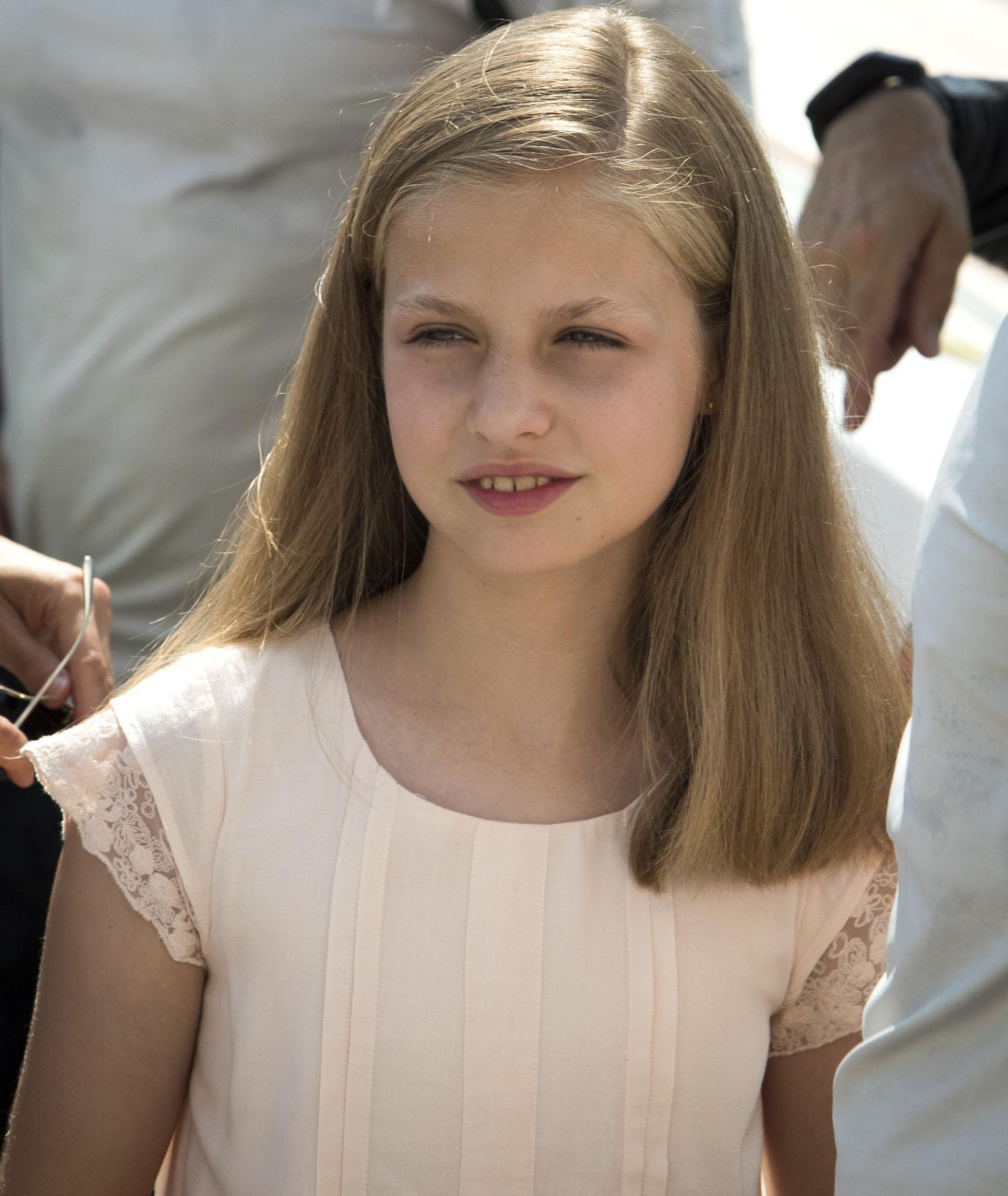 La princesa Leonor se encuentra primera en la línea sucesora al trono de España