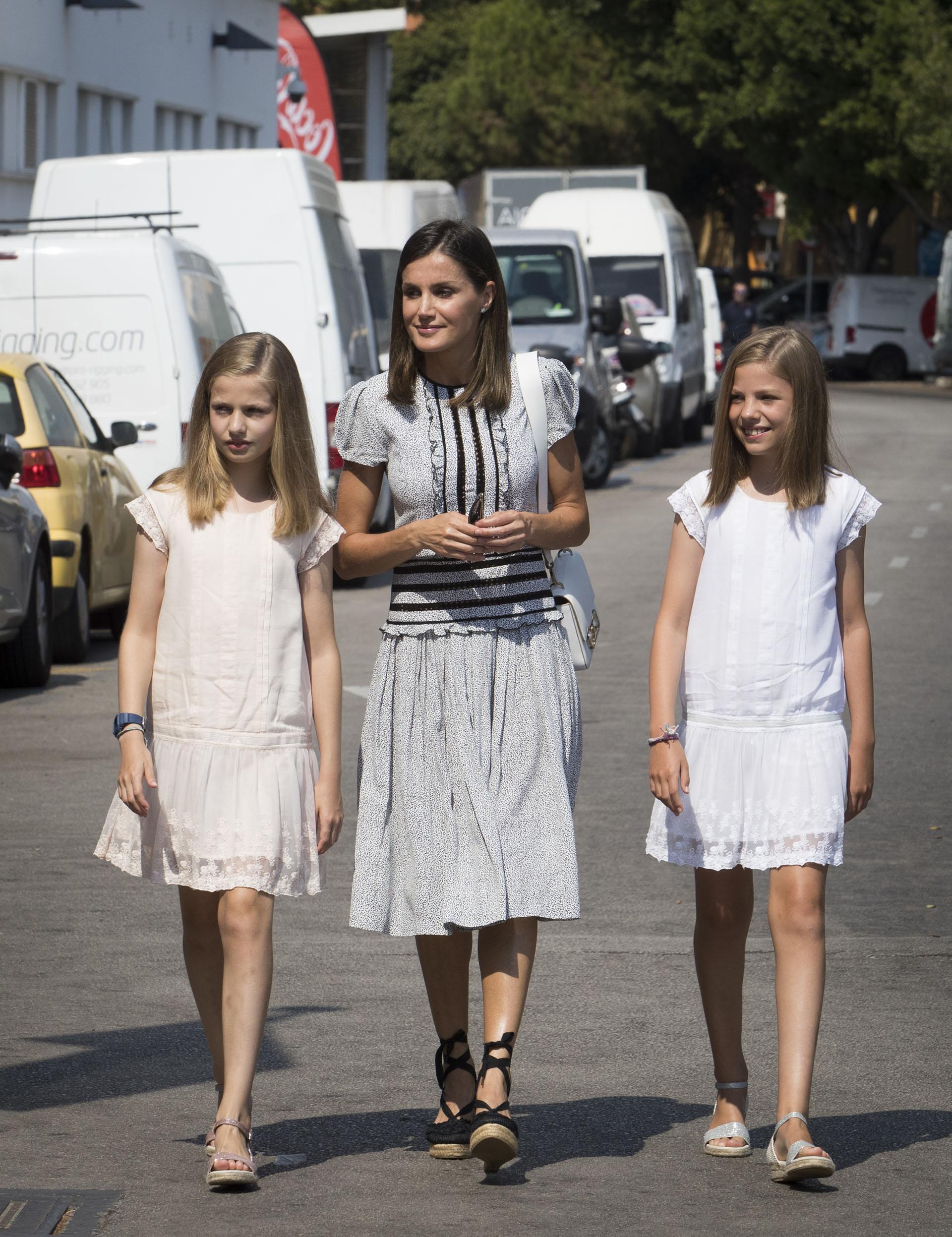 Desde la semana pasada, la familia real española disfruta de sus vacaciones de verano en Palma de Mallorca