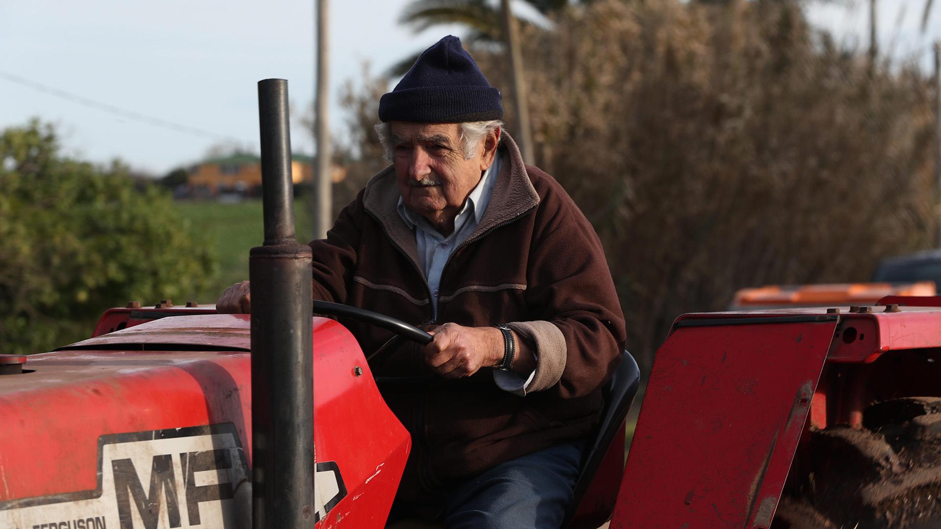 El ex mandatario continúa viviendo en su chacra, a las afueras de Montevideo (EFE)