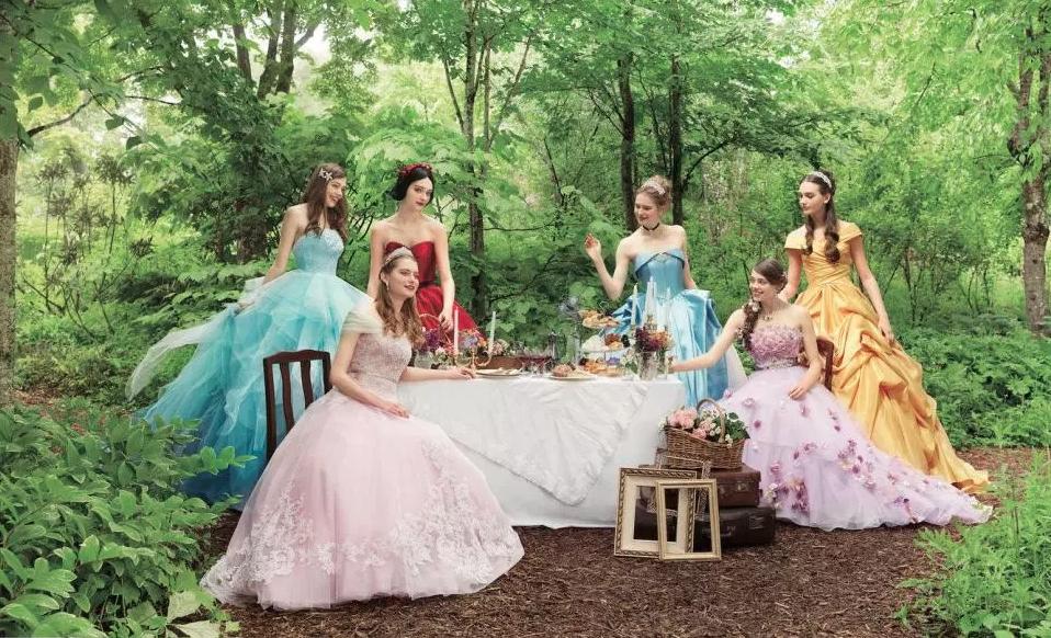 14 vestidos de novia inspirados en las seis princesas más icónicas de Disney (Disney Japan/ Kuraudia Co)