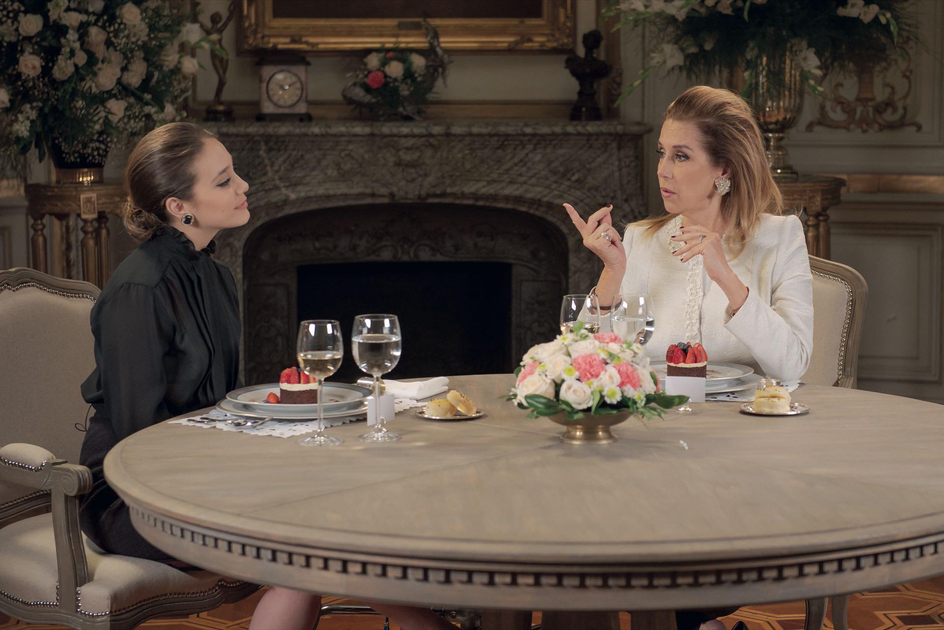 Marcela Tynaire y Angela Torres el almuerzo a solas, entre Mirtha y Lolita Torres