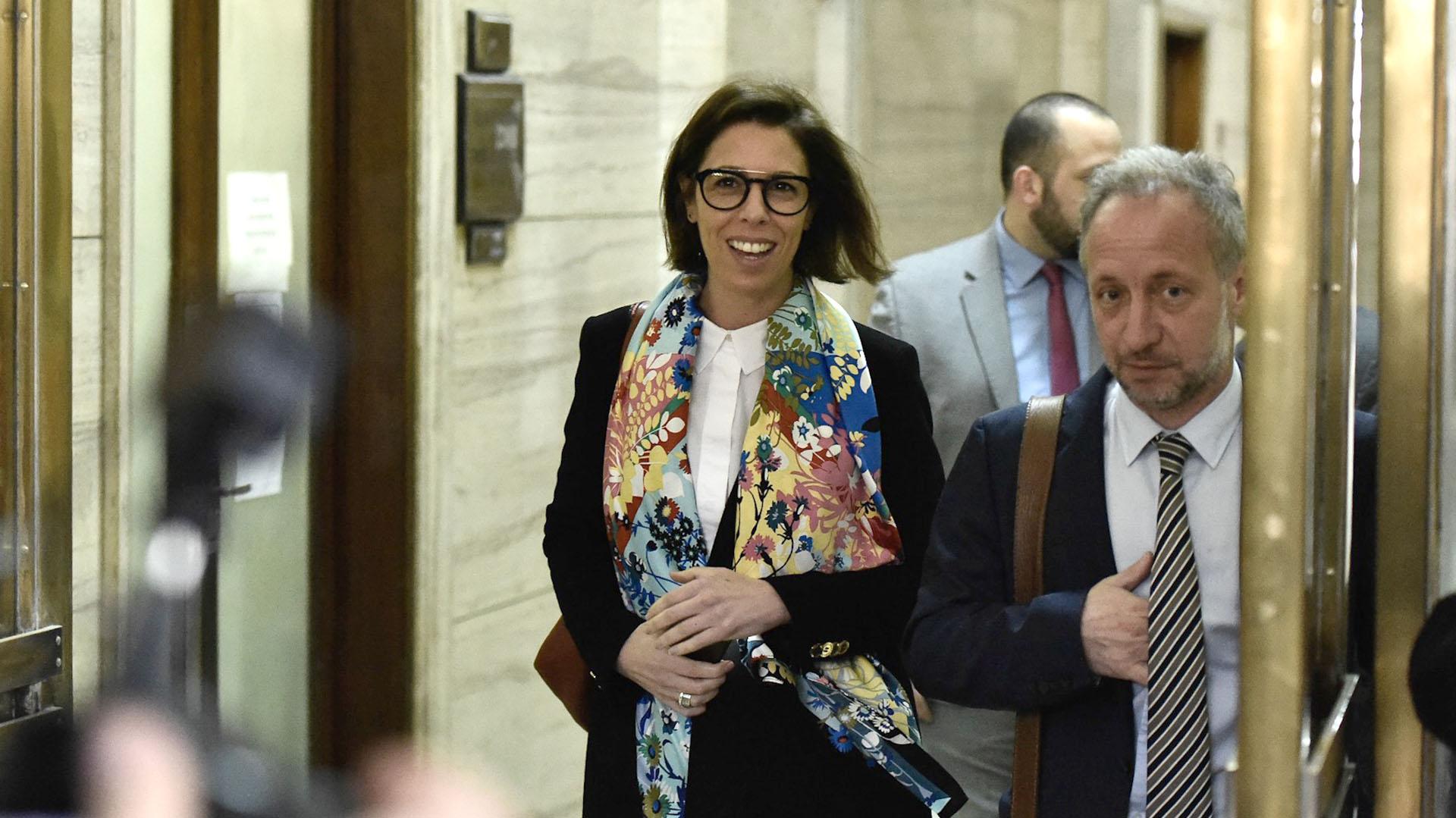 Laura Alonso, titular de la Oficina Anticorrupción (Adrián Escandar)