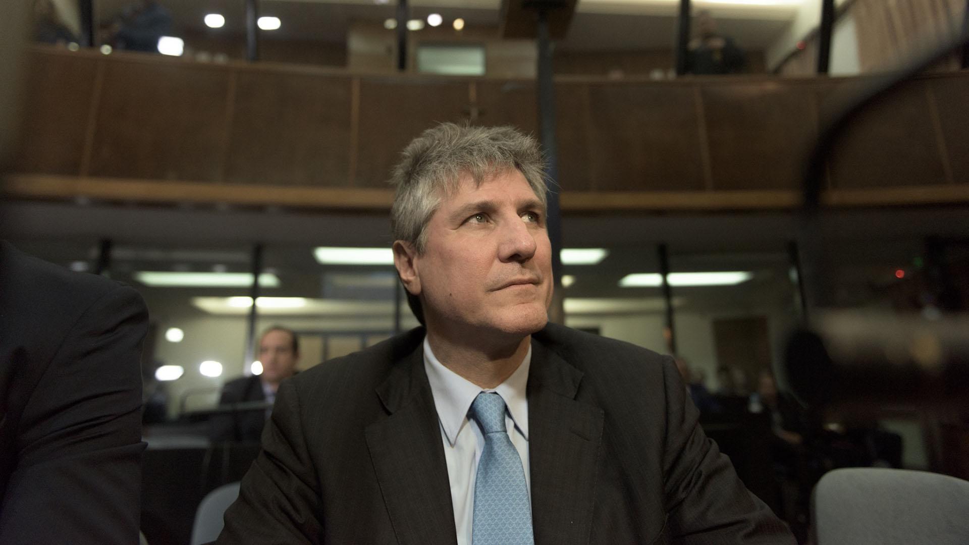 El ex vicepresidente durante la última audiencia del juicio