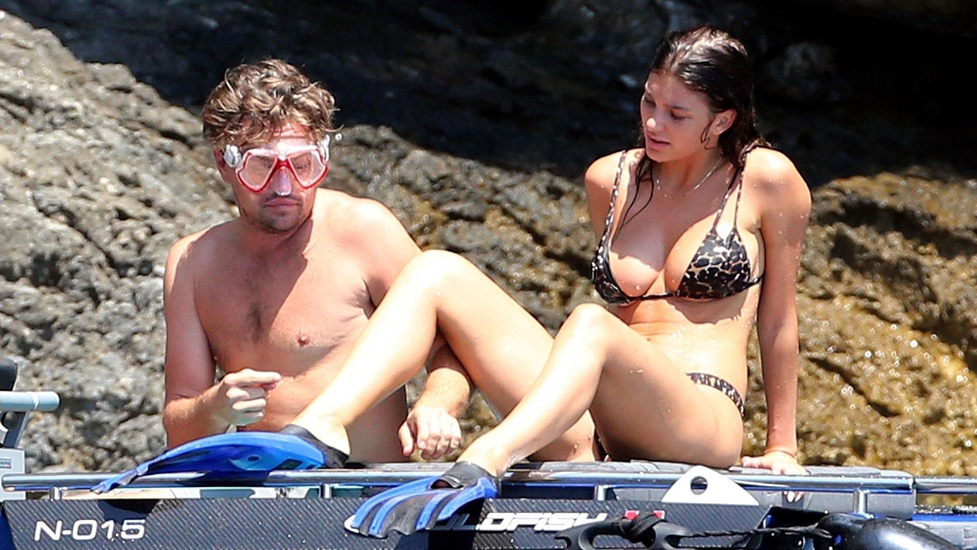 Leonardo DiCaprio y Camila Morrone realizaron una escapada romántica en Italia. El actor y la modelo argentina están en pareja desde fines de 2017 (Grosby Group)