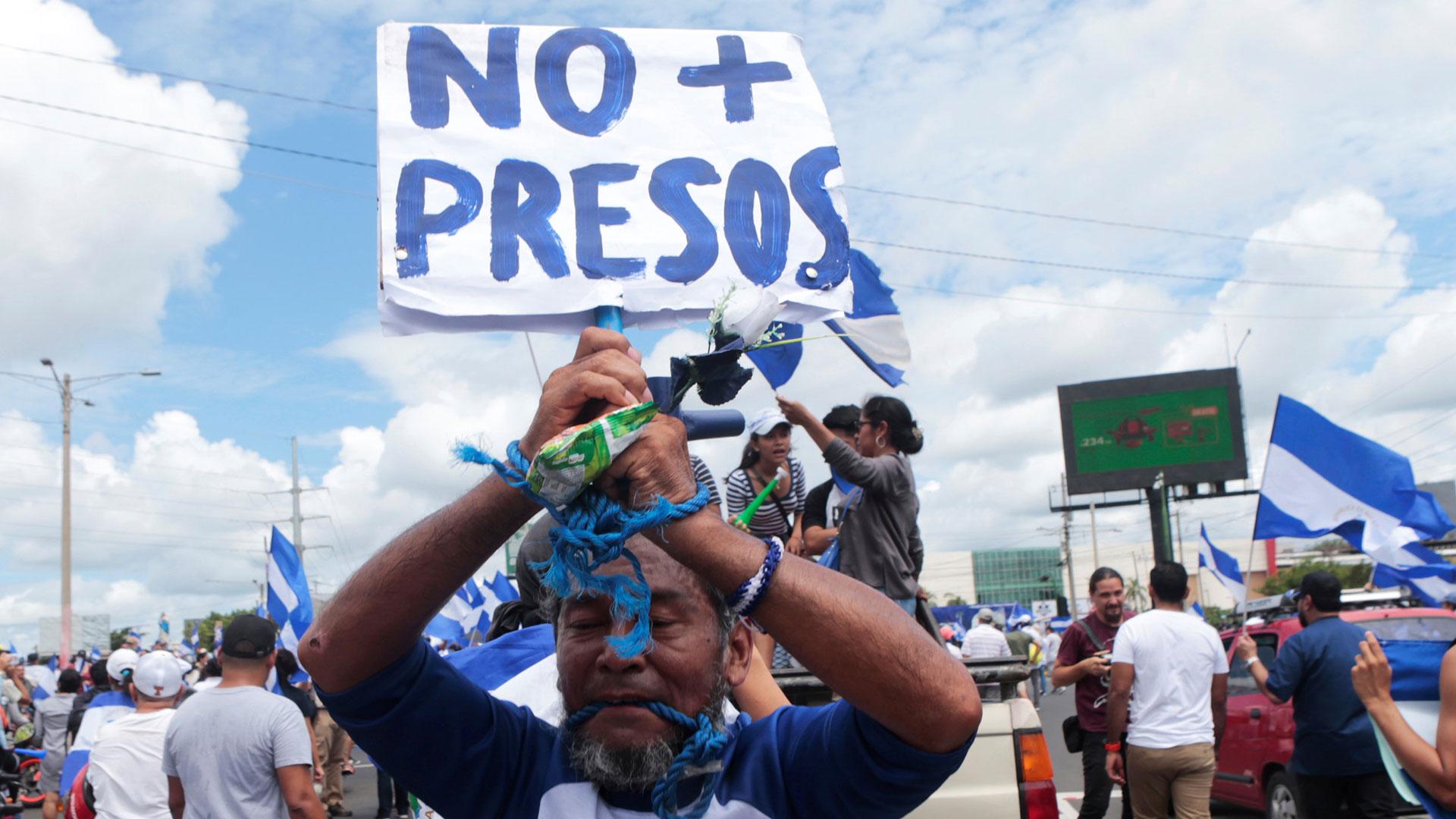 Las protestas y la represión fueron constantes en los últimos meses (EFE)
