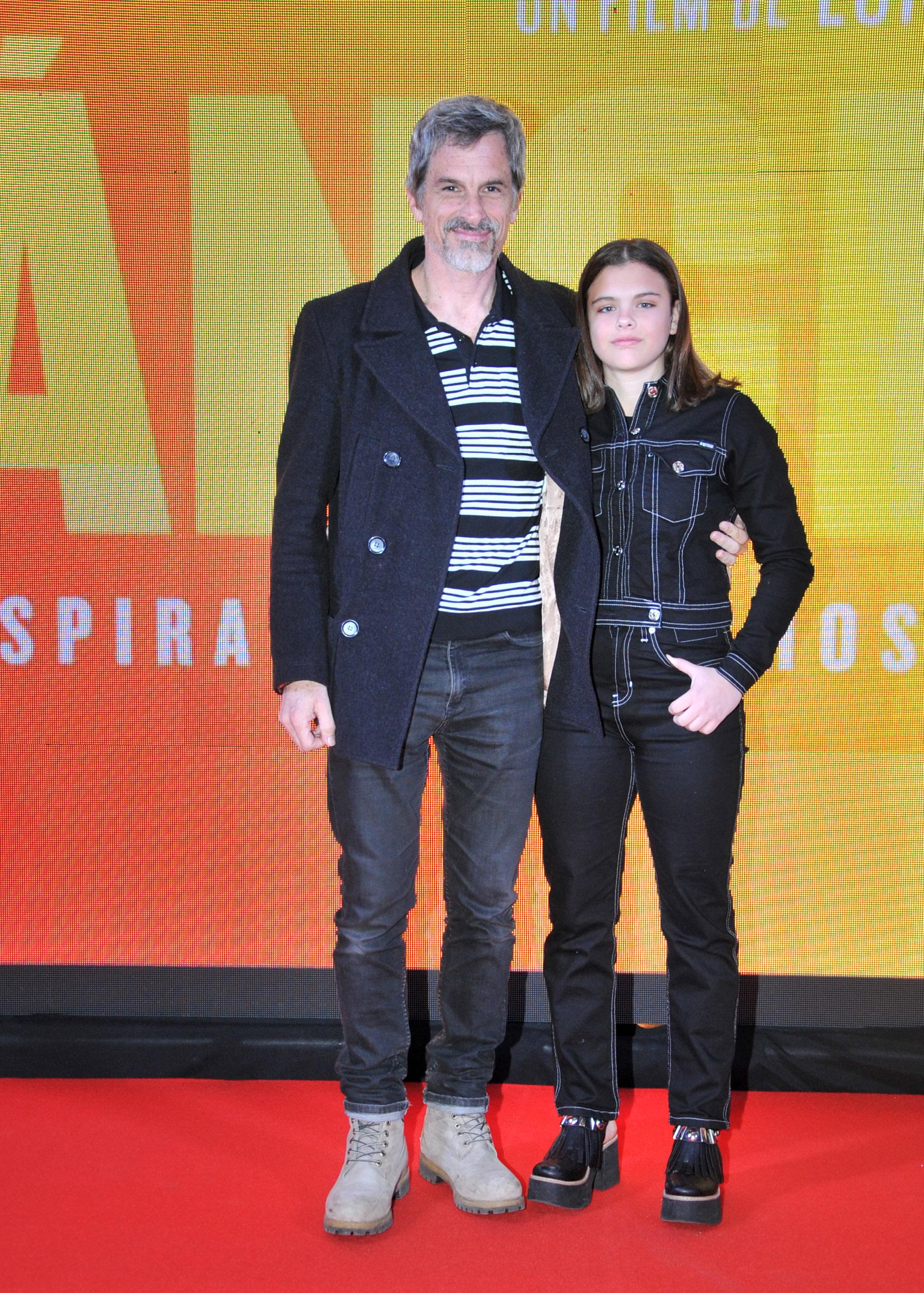 Rafael Ferro y su hija Matilda