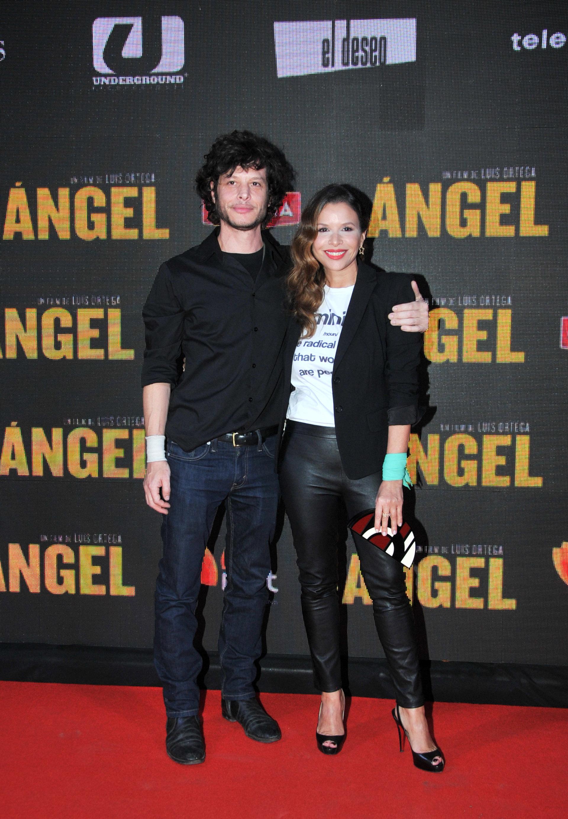 Luis Ortega y su hermana Julieta