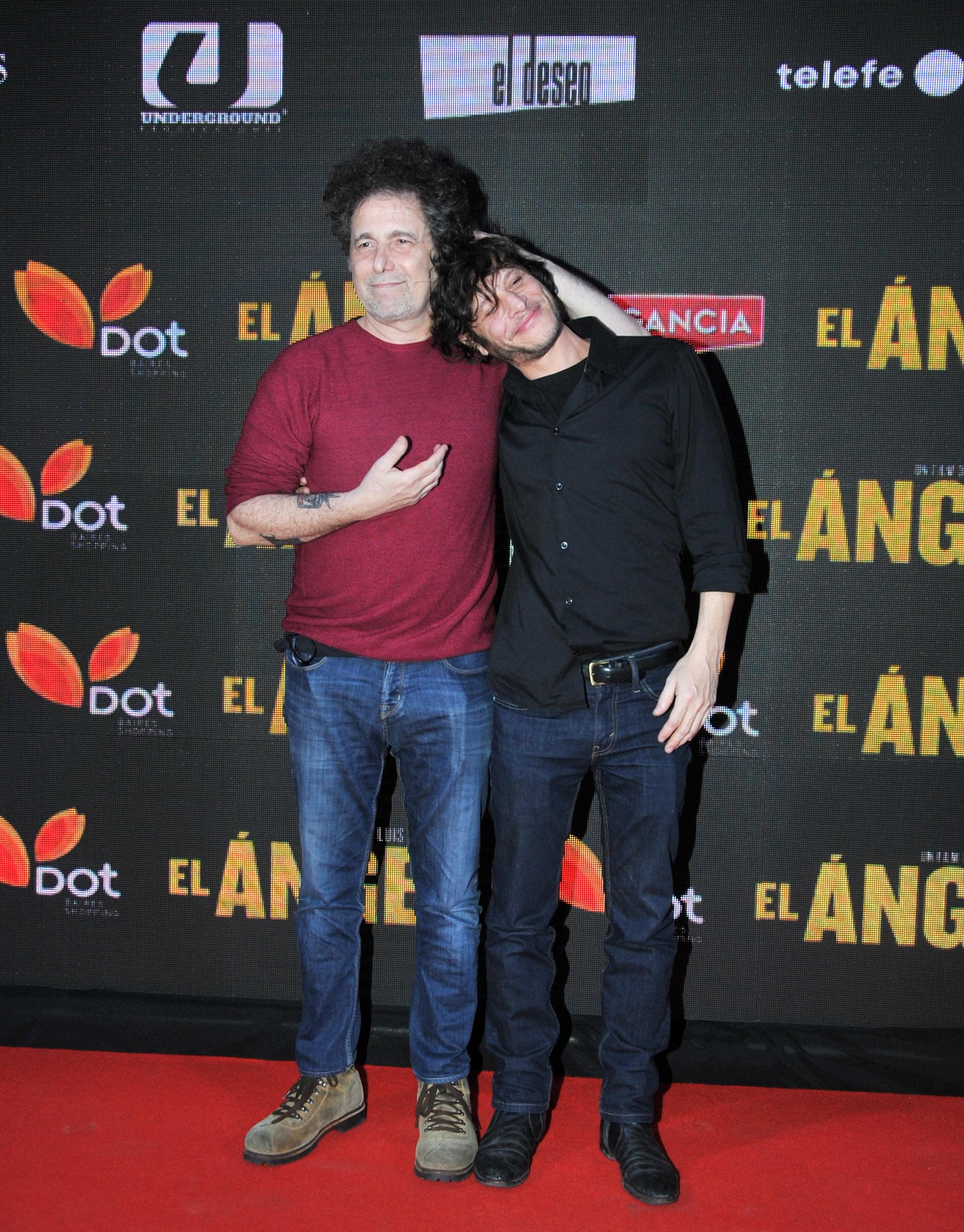 Andrés Calamaro y Luis Ortega