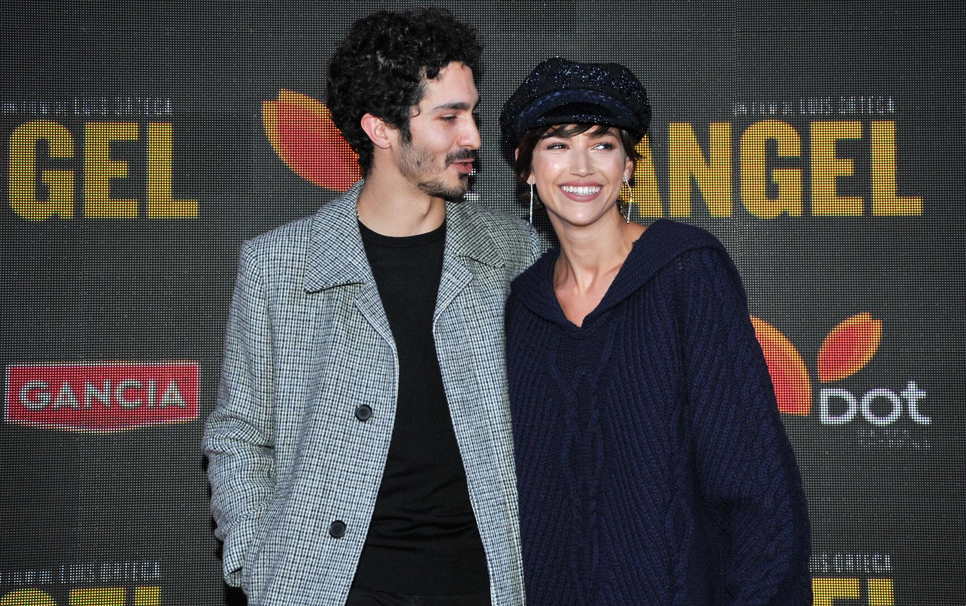 El Chino Darín y su pareja Úrsula Corberó