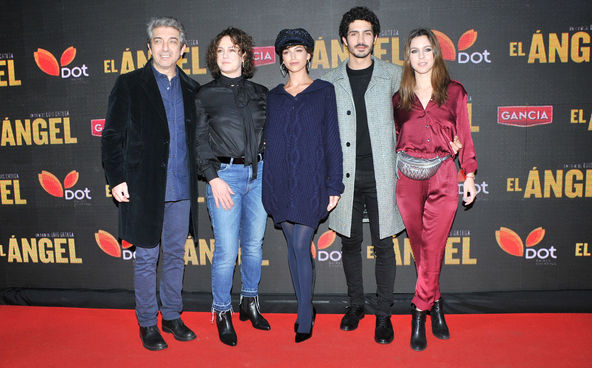 Ricardo Darín, Florencia Blas, Úrsula Corberó, El Chino y Clara Darín