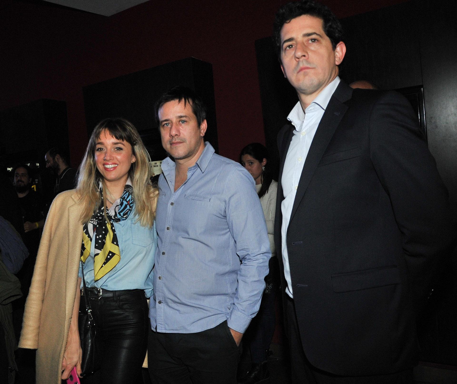 Mariano Recalde y su mujer