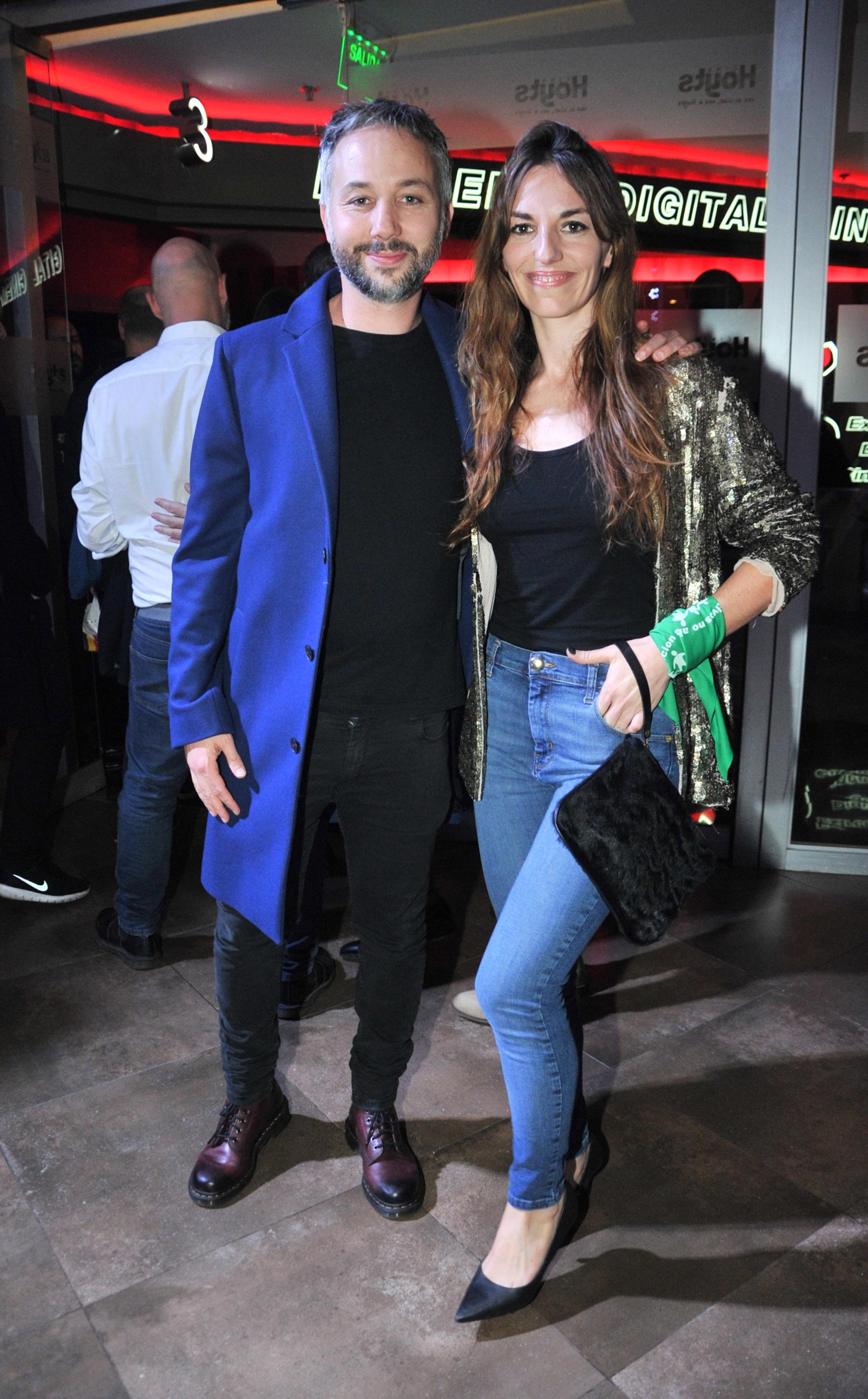 Diego Iglesias y Érica Halvorsen