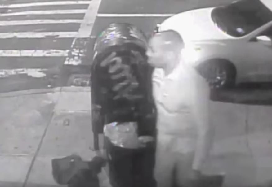 Este es el hombre que, según la policía, golpeó con fuerza en la cara a Sandor Szabo y lo dejó tirado en plena calle después que cayera al pavimento y sufriera una conmoción cerebral.