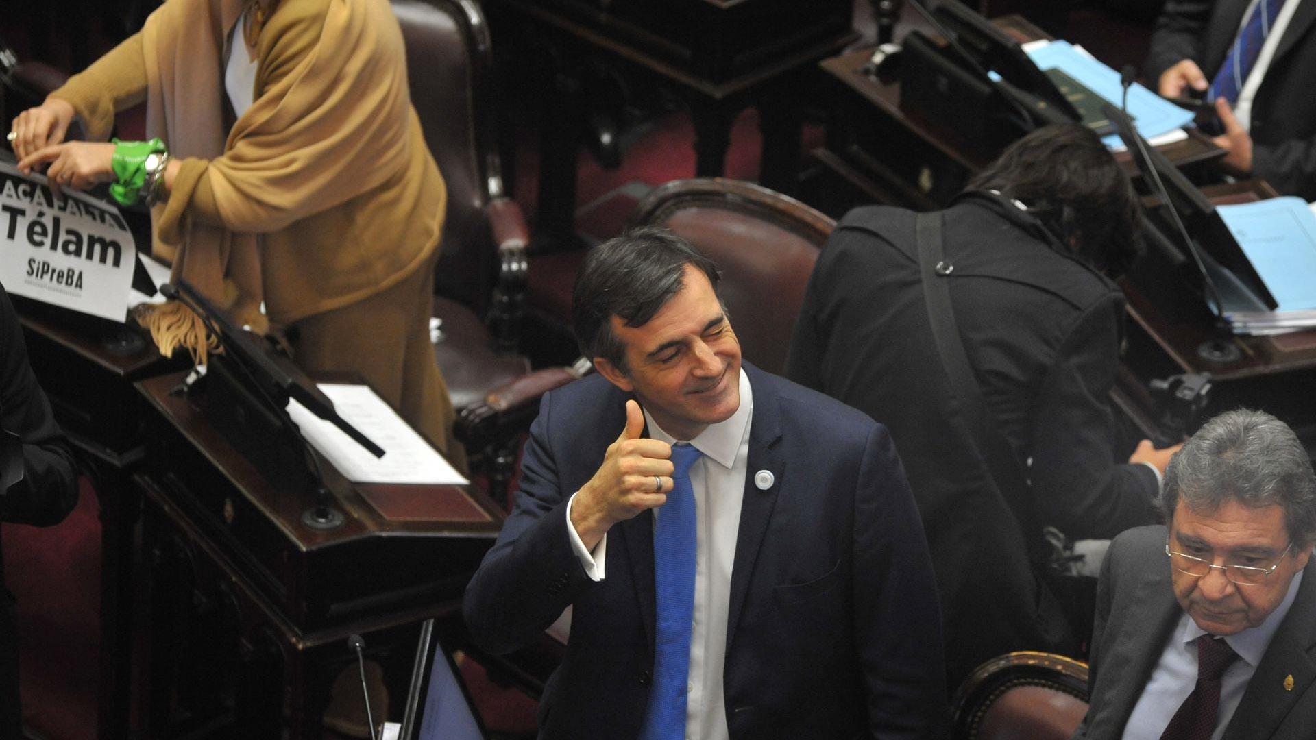 El senador oficialista Esteban Bullrich
